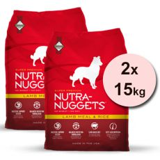 NUTRA NUGGETS Lamb & Rice 2 x 15 kg
