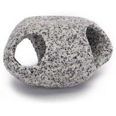 Dekorace - Kamenný úkryt, žula, 5 cm