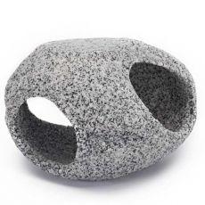 Dekorace - Kamenný úkryt, žula, 10,2 cm
