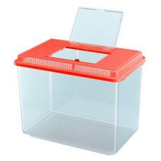 Plastová přepravka Ferplast GEO MAXI - červená, 21l