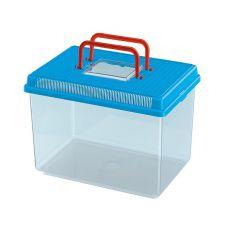 Plastová přepravka Ferplast GEO LARGE - modrá, 6l