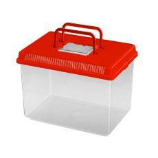 Plastová přepravka Ferplast GEO LARGE - červená, 6l
