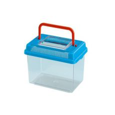 Plastová přepravka Ferplast GEO MEDIUM - modrá, 2,5l
