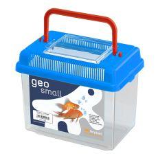 Plastová přepravka Ferplast GEO SMALL - modrá, 1l