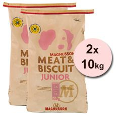 Magnusson Meat & Biscuit JUNIOR 2 x 10 kg