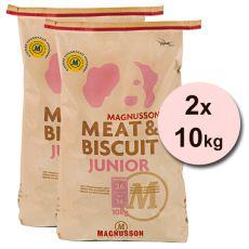 Magnusson Meat & Biscuit JUNIOR 2 x 10 kg