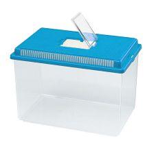 Plastová přepravka Ferplast GEO EXTRA LARGE - modrá, 11l