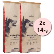 Magnusson Meat & Biscuit WORK 2 x 14 kg