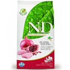 Farmina N&D dog GF ADULT MINI Chicken & Pomegranate 0,8 kg