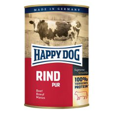 Happy Dog Pur - Rind 400 g / hovězí
