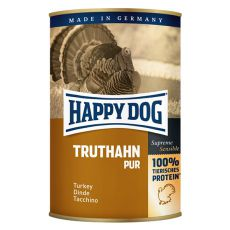 Happy Dog Pur - Truthahn 400 g / krůta