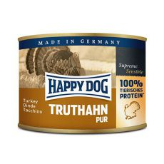Happy Dog Pur - Truthahn 200 g / krůta