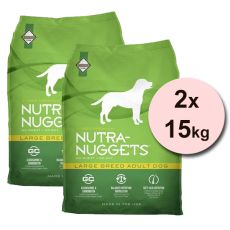 NUTRA NUGGETS Large Breed Adult 2 x 15 kg