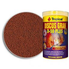 TROPICAL Discus Gran D-50 Plus 100ml/38g