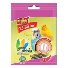 VITAPOL - směs Vitaline hustá pírka pro ptáky, 20 g