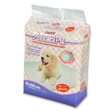 Hygienické podložky pro psy - 60 x 90 cm, 10+1 ZDARMA
