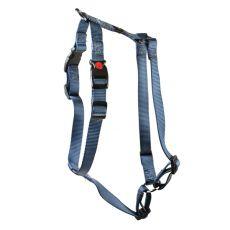 Postroj pro psy, nylonový - šedý, 36 - 44 cm