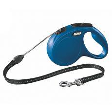 Flexi vodítko New Classic M do 20 kg, 5m lanko - modré