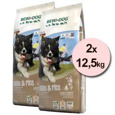 BEWI DOG LAMB a RICE 2 x 12,5kg