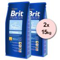 Brit Premium Puppy 2 x 15kg