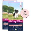 EUKANUBA Senior Small & Medium Breed Lamb 2 x 12 kg