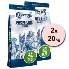 Happy Dog 23-9,5 BASIC 2 x 20 kg