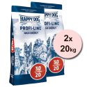 Happy Dog 30-20 HIGH ENERGY 2 x 20 kg