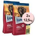 Happy Dog Supreme Africa 2 x 12,5 kg