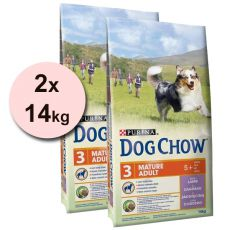 PURINA DOG CHOW MATURE ADULT Lamb 2 x 14 kg