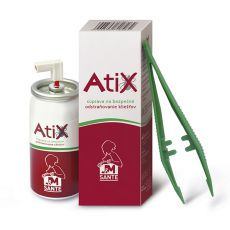 ATIX souprava k odstraňování klíšťat - 9ml sprej + pinzeta