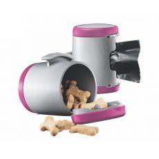 Flexi Vario Multi Box zásobník, růžový + sáčky na odpad