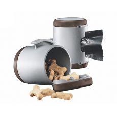 Flexi Vario Multi Box zásobník, hnědý + sáčky na odpad