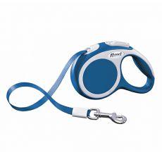 Flexi Vario XS vodítko do 12 kg, 3m popruh - modré