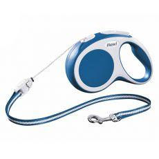 Flexi Vario S vodítko do 12 kg, 8m lanko - modré