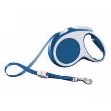 Flexi Vario M vodítko do 25 kg, 5m popruh - modré