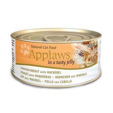 Applaws Cat Jelly - konzerva pro kočky s kuřetem a makrelou, 70 g