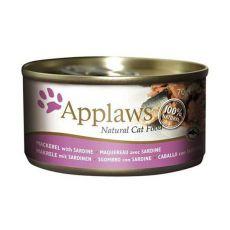 Applaws Cat - konzerva pro kočky s makrelou a sardinkami, 70 g