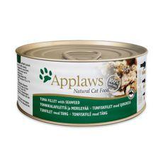 Applaws Cat - konzerva pro kočky s tuňákem a mořskými řasami, 70 g