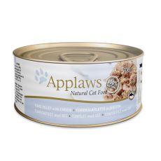 Applaws Cat - konzerva pro kočky s tuňákem a sýrem, 70 g