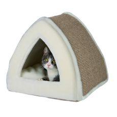Pelech pro kočku Jessa, béžový - 40 x 40 x 38 cm