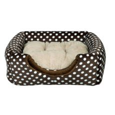 Pelech pro psa nebo kočku Mina - hnědý, 35 x 35 x 35 cm