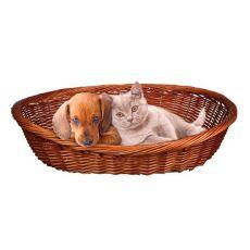 Proutěný pelech pro psa nebo kočku - 50 cm