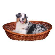 Proutěný pelech pro psa - 90 cm