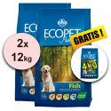 Farmina MO P ECOPET N dog FISH MEDIUM 2 x 12 kg + 4 kg GRATIS