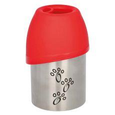 Cestovní láhev s miskou pro psy, 300 ml