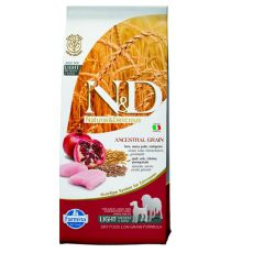 Farmina N&D dog LG Light MEDIUM & MAXI Chicken & Pomegranate 12 kg