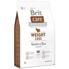 Brit Care Weight Loss - Rabbit & Rice 3 kg