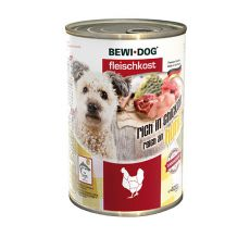 New BEWI DOG konzerva – Chicken, 400 g