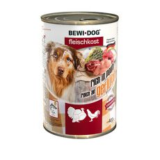New BEWI DOG konzerva – Drůbež, 400 g