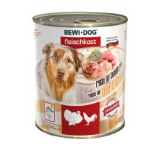 New BEWI DOG konzerva – Drůbež, 800 g
